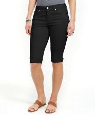 Style & Co Cuffed Denim Skimmer Shorts
