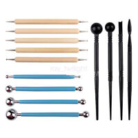 13PCS Clay Sculpting Carving Pottery Tools Polymer Modeling DIY Sculpture Craft