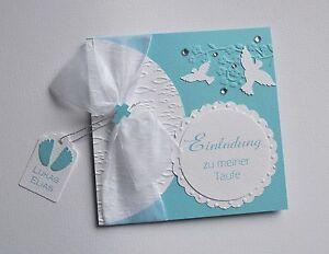Einladungskarte Einladungen Taufe Kommunion Konfirmation personalisiert T222