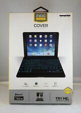 Zagg Keys Cover Bluetooth Keyboard for Apple iPad Air (Black)