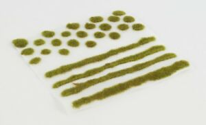 WWS 2mm Winter Self-Adhesive Static Grass Tufts/Strips Mix - Railroad Warhammer