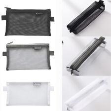 Nettogarn Mäppchen Federmäppchen Mit Reißverschluss Storage Bags Kosmetiktasche