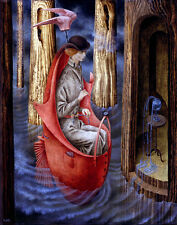 Remedios Varo Exploracion de las fuentes del rio orionoco Canvas 16 x 20   #4771