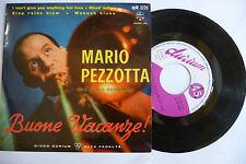 """MARIO PEZZOTTA""""BUONE ACANZE-disco 45 giri EP- DURIUM IT 1960"""" JAZZ ITALY-RARO"""