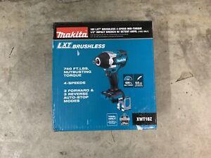 "Makita XWT18Z 18V LXT Li-Ion Cordless 4-Speed Mid-Torque 1/2"" Impact Wrench NEW!"