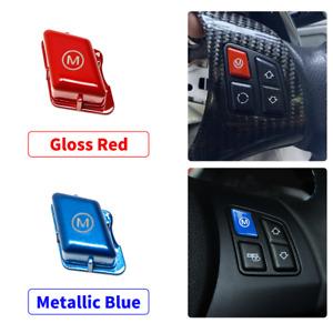Steering Wheel M Switch Button Cover For BMW 1 3 Series E81 E82 E87 E90 E92 M3