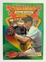 1993 Topps Finest CAL RIPKEN JR., #96, Baltimore Orioles LEGEND, HOF