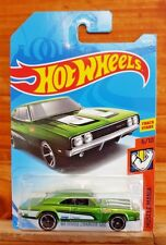 HOT WHEELS 2018 MUSCLE MANIA 6/10 '69 DODGE CHARGER 500 92/365 Green (A+/A-)