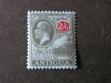 ANTIGUA, SCOTT # 55, 2sh.6p. VALUE  KGV 1921-29 ST JOHNS  HARBOR ISSUE MH