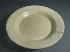 Piatto in ceramica di Digoin Sarreguemines arte popolare old francese piani