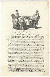 John STANLEY / Advice to Caelia Set by Mr Stanley Plate 50 from George Signed