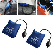 2x Air Inflatable Pump Wedge Bag Car Door Window Emergency Lock Dent Entry Open