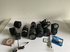 Set Of Vintage Lens And Accessories