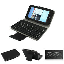 Bluetooth Wireless Keyboard Leather Case For Samsung Galaxy Tab2 7.0 P3100 P3110