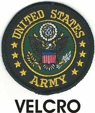 Military Seal of the US Army Patch VELCRO® BRAND Hook Fastener Compatible