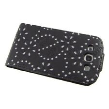 Business Case Samsung Galaxy S3 GT-I9300 GT-I9305 Strass schwarz