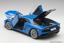 Autoart LAMBORGHINI AVENTADOR S 2017 BLU NILA/PEARL BLUE 1/18 Scale New Release!