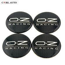 4* 56mm O.Z RACING Emblem Auto Wheel Center Hubs Wheel Center Caps Badge Sticker