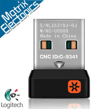 Genuine Logitech Unifying Receiver 6 Devices USB Wireless Keyboard Mouse Dongle
