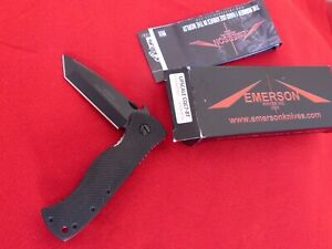 Emerson CQC-7 BT Upscale G10 mint in box Tanto Blade 48/70 edition knife