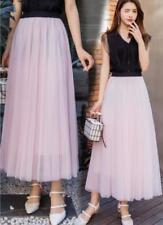 HOT Women Tulle Skirt Adult Tutu Petticoat Prom Princess Dress Summer SizeP93