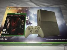 New Military Green XBOX One S Special Edition 4K Console 1tb Metal Gear Phantom