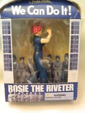 CUTE NEW IN PKG. 2015 WE CAN DO IT! ROSIE THE RIVETER FIGURE - ARCHIE MCPHEE