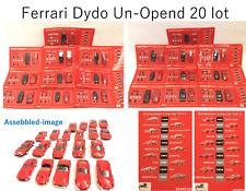 **Ferrari 1/64  Kyosho x Dydo Vol.1 and Vol.2 Complete 20 Carslot Track No.Free