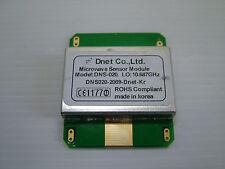 Lot of 2 X band Doppler RADAR RF transmitter receiver 10.687GHz ROHS DNS-020