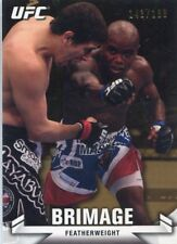 2013 TOPPS UFC KNOCK OUT GOLD PARALLEL #/188 MARCUS BRIMAGE #122
