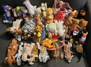 44 Beanie Babies -PICK YOUR BEANIE- Good condition/Some rare/1993/1996/1997/etc