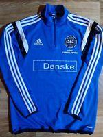 Adidas DBU Dansk Boldspil Union Track Jacket Football Soccer Danish Sweatshirt