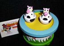 """Music Box - dancing cows to the tune """" Old Macdonald's Farm"""""""