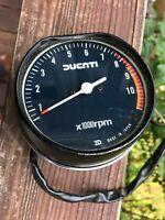 Ducati Mike Hailwood Replica 1000 S2 Darmah Pantah ND Tachometer 1979-86