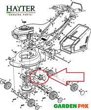 "-Genuine- Hayter MOTIF 53 (21"") Complete GEARBOX ASSY - 111-7672 - A1133 #v"