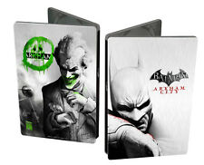 XBOX 360 gioco Batman Arkham City Joker LIMITED STEELBOOK EDITION