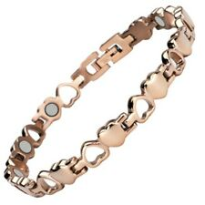 Cupid Love Rose Gold Magnetic Bracelet For Women - Arthritis Pain Relief Jewelry