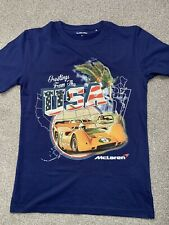 McLaren Greetings From USA Men's T-shirt Size M BNWOT