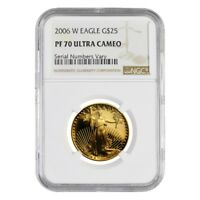 2006 W 1/2 oz $25 Proof Gold American Eagle NGC PF 70 UCAM