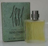 Miniatur Cerruti - 1881 Pour Homme 7 ml Eau de Toilette EDT