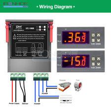 AC 220V Digitaler STC 1000 Temperaturregler Thermostatregler Sensor Sonde