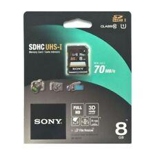 Memory card per cellulari e palmari classe 1 con 8 GB di archiviazione