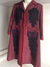 Women's PRADA maroon coat size 40