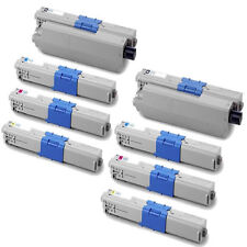 8-Pack Toner Set for Oki MC362w C531dn C331dn MC361 C330dn C530dn C530 44469801