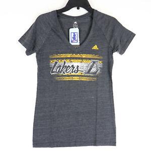 LA Lakers Adidas NBA T Shirt Womens M Medium