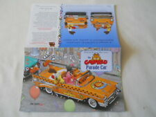 Danbury Mint 1:24 paper for The Garfield Parade Car