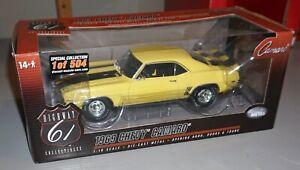 1969 Chevy Camaro 1 of 504 Highway 61 1/18 Diecast New In Box