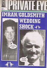 IMRAN / GOLDSMITH WEDDING SHOCK	Private Eye	no.	872	19	May	1995