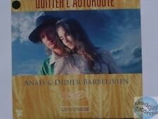 DIDIER BARBELIVIEN QUITTER L'AUTOROUTE CD SINGLE 2T