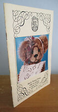 1990s SANDY FLEMING BEARS Catalog, Illustrated Handcrafted Teddy Bears